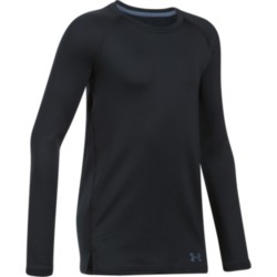 Under Armour Girl's Coldgear Armour Fitted Long Sleeve Crew Neck found on Bargain Bro Philippines from sunandski.com for $27.83