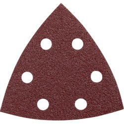 Bosch 3-1/2 in. L x 3.75 in. W 60 Grit Medium Aluminum Oxide Detail Sanding Triangle 5 pk found on Bargain Bro India from acehardware.com for $4.99