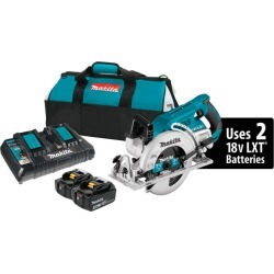 Makita X2 LXT 7-1/4 in. 18 volt Cordless Brushless Rear Handle Circular Saw Kit 5100 rpm