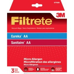 3M Filtrete Vacuum Bag For Eureka/ Sanitaire AA/MicroAllergen 3 pk found on Bargain Bro India from acehardware.com for $7.99