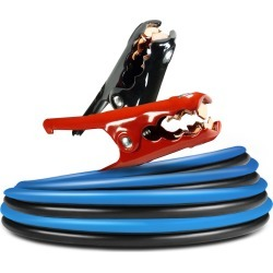 DieHard 20 ft. 4 Ga. Booster Cable Clamps 250 amps
