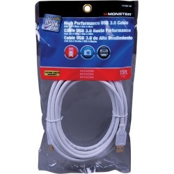 Monster Cable Just Hook It Up 15 ft. L USB Cable found on Bargain Bro India from acehardware.com for $15.99