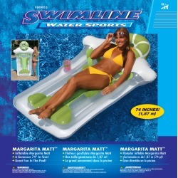 Swimline Multicolored Vinyl Inflatable Pool Float