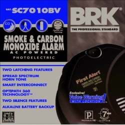 BRK Hard-Wired w/Battery Back-up Electrochemical/Photoelectric Smoke and Carbon Monoxide Detector found on Bargain Bro India from acehardware.com for $59.99