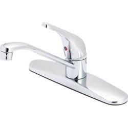 OakBrook Essentials Single Handle Kitchen One Handle Chrome Kitchen Faucet