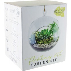 Syndicate Home & Garden 7 in. W Clear Plastic Floating Orb Garden Kit