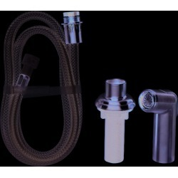 OakBrook Brushed Nickel Kitchen Spray Head and Hose Assembly