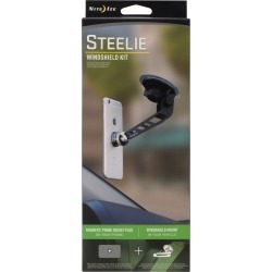 Nite Ize Steelie Black/Silver Windshield Cell Phone Mount Universal