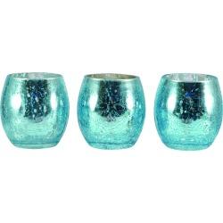 Mark Feldstein Mercury Glass Votive Holder