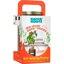 Back To The Roots - Self Watering Cherry Tomato Planter Jar - BTTR Kit found on Bargain Bro Philippines from true leaf market for $38.31