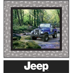 Quilt Kit - Jeep River Crossing by Riley Blake found on Bargain Bro Philippines from JOANN Stores for $44.99
