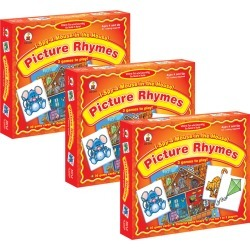 I Spy a Mouse in the House! Picture Rhymes Game, Grade PK - 1, Pack of 3