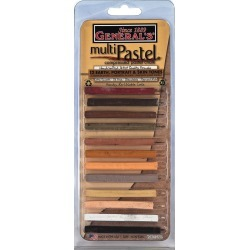 General's - Multi Pastel Compressed Chalk Sticks 12/Pkg - Skin Tones - Drawing Supplies - At JOANN Fabrics & Crafts found on Bargain Bro Philippines from JOANN Stores for $18.99