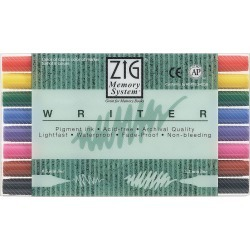Zig Memory Writer Dual - Tip Markers - 8PK found on Bargain Bro Philippines from JOANN Stores for $32.99