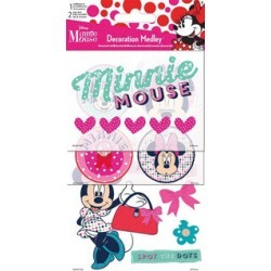 Sandylion Minnie Mouse Decoration Medley Stickers & Embellishments