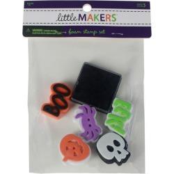 Little Makers Halloween Foam Stamp Set