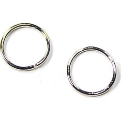 Blue Moon Findings Jump Ring Metal 8mm Silver