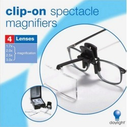 ClipOn Spectacle Magnifier found on Bargain Bro Philippines from JOANN Stores for $26.99