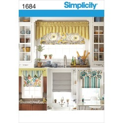 Simplicity Pattern 1684OS One Size - Simplicity Crafts Ho