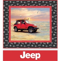 Quilt Kit - Jeep Beach Bum by Riley Blake found on Bargain Bro Philippines from JOANN Stores for $44.99