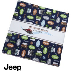 Jeep Adventure Awaits 10 Stacker by Riley Blake found on Bargain Bro Philippines from JOANN Stores for $26.99
