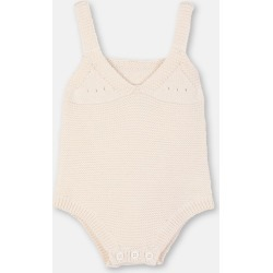 Stella McCartney Kids Cream Bunny Knit Body, Unisex, Size 1-3 found on Bargain Bro UK from Stella McCartney UK