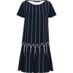 Antonino Valenti Woman Flared Knitted Mini Dress Navy Size 40 found on MODAPINS from theoutnet.com UK for USD $661.43