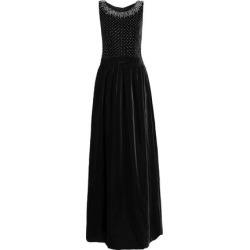 Dolce & Gabbana Woman Embellished Velvet Gown Black Size 40 found on MODAPINS from theoutnet.com UK for USD $3314.06