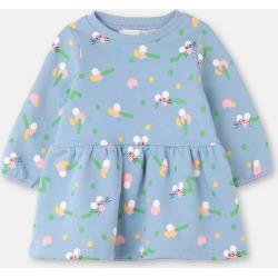 Stella McCartney Kids Blue Mice Wiggle Cotton Fleece Dress, Unisex, Size 6-9 found on Bargain Bro UK from Stella McCartney UK