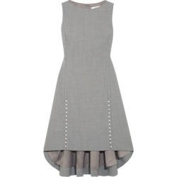 Adeam Woman Faux Pearl-embellished Woven Dress Gray Size 8 found on MODAPINS from The Outnet US for USD $481.00