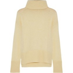 Adam Lippes Woman Oversized Cashmere Sweater Pastel Yellow Size L found on MODAPINS from The Outnet US for USD $307.00