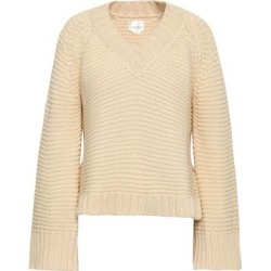 Anine Bing Woman Cotton Sweater Cream Size S found on MODAPINS from The Outnet US for USD $126.00