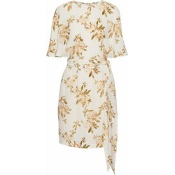 Ganni Woman St. Pierre Floral-print Crepe Mini Dress White Size 34 found on MODAPINS from theoutnet.com UK for USD $89.85