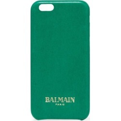 Balmain Woman Leather Iphone 6 Case Green Size - found on Bargain Bro India from The Outnet US for $139.00