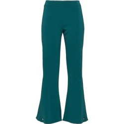 Antonio Berardi Woman Button-detailed Woven Kick-flare Pants Teal Size 40 found on MODAPINS from theoutnet.com UK for USD $319.40