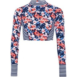Tart Collections Woman Paneled Printed Rash Guard Multicolor Size M found on MODAPINS from theoutnet.com UK for USD $73.40