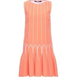 Antonino Valenti Woman Flared Knitted Mini Dress Peach Size 40 found on MODAPINS from theoutnet.com UK for USD $661.43