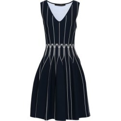 Antonino Valenti Woman Flared Knitted Mini Dress Navy Size 44 found on MODAPINS from theoutnet.com UK for USD $633.48