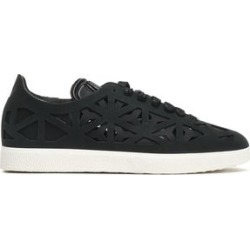 Adidas Originals Woman Laser-cut Suede And Neoprene Sneakers Black Size 7 found on MODAPINS from theoutnet.com UK for USD $73.02