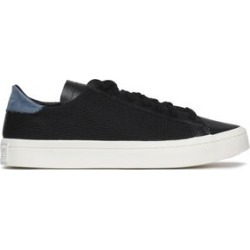 Adidas Originals Woman Leather And Mesh Sneakers Black Size 4 found on MODAPINS from theoutnet.com UK for USD $61.69