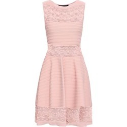 Antonino Valenti Woman Flared Knitted Mini Dress Blush Size 40 found on MODAPINS from theoutnet.com UK for USD $517.70