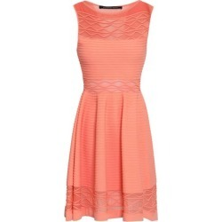 Antonino Valenti Woman Flared Knitted Mini Dress Peach Size 40 found on MODAPINS from theoutnet.com UK for USD $517.70