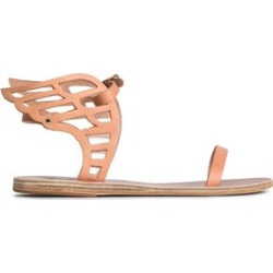 Ancient Greek Sandals Woman Cutout Leather Sandals Sand Size 37 found on MODAPINS from The Outnet US for USD $150.00