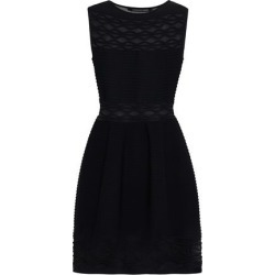 Antonino Valenti Woman Flared Knitted Mini Dress Black Size 44 found on MODAPINS from theoutnet.com UK for USD $517.70