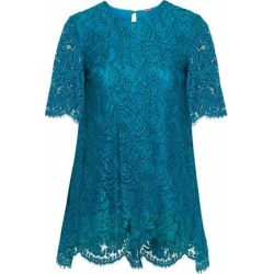 Adam Lippes Woman Cotton-blend Corded Lace Top Petrol Size 2 found on MODAPINS from theoutnet.com UK for USD $325.06