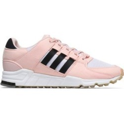 Adidas Originals Woman Fauxe Suede And Knitted Sneakers Pastel Pink Size 6 found on MODAPINS from theoutnet.com UK for USD $80.57