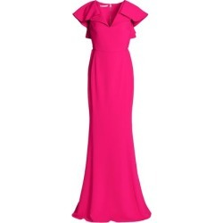 Antonio Berardi Woman Ruffled Cady Gown Fuchsia Size 40 found on MODAPINS from theoutnet.com UK for USD $1075.08