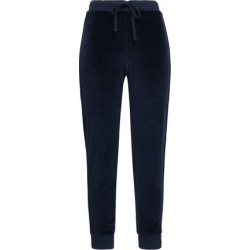 Amo Woman Cotton-blend Chenille Track Pants Midnight Blue Size XS found on MODAPINS from theoutnet.com UK for USD $103.81