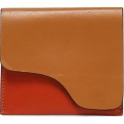 Atp Atelier Woman Two-tone Leather Cardholder Tan Size - found on MODAPINS from theoutnet.com UK for USD $219.14