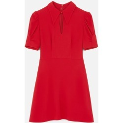 Stella McCartney RED Blair Stretch Cady Dress, Women's, Size 10 found on Bargain Bro UK from Stella McCartney UK